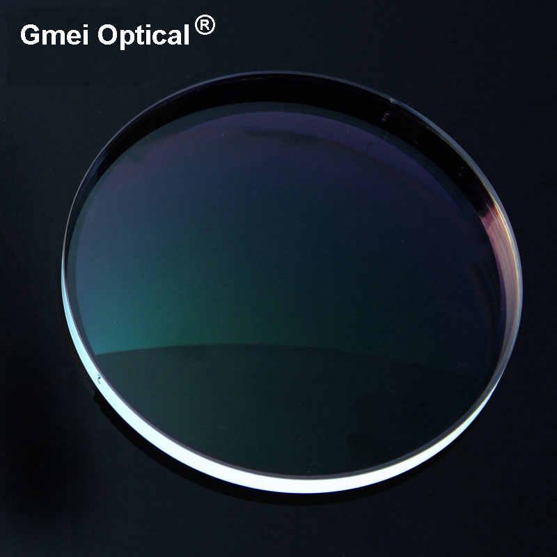 גבוהה באיכות קרינת הגנת מדד 1.56 ברור אופטי עדשת חזון יחידה HMC, EMI אספריים אנטי Uv מרשם עדשות, 2Pcs