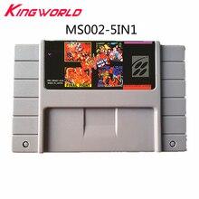 5 в 1 Картинка для видеоигр. Коллекция карт для США Super Nintendo для SF C SNES