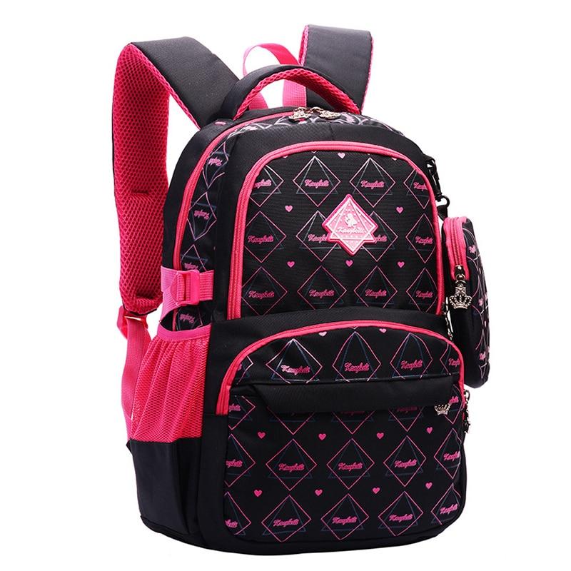 School-Bags Student-Bag Backpack Rucksack Teenagers Girls Fashion Women Nylon for Printing