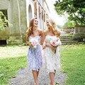 New Designers Knee Length Bridesmaid Dress 2016 Vestidos De Damas De Honra Adultas Cheap Party Prom Dresses