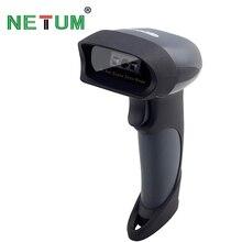 NT-M7 Drahtlose Bluetooth CCD Barcode Scanner Tragbare Laser 1D Barcode Reader für Android und ios iphone NETUM