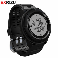 EXRIZU UW80 Outdoor Sport GPS Navigation Smart Watch Heart Rate Monitor Bluetooth Smartwatch Fitness Tracker Compass Altimeter