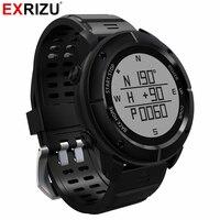 Exrizu uw80 Спорт на открытом воздухе GPS навигации Смарт Часы Heart Rate Мониторы Bluetooth SmartWatch Фитнес трекер Компасы высотомер