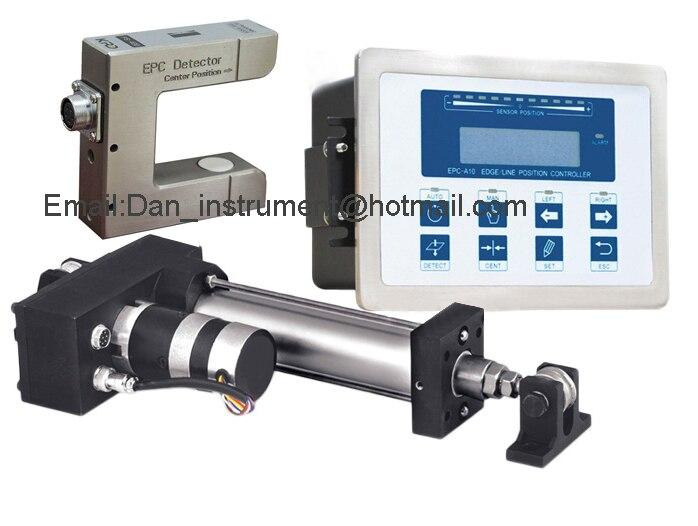 Alta Qualidade EPC Web Guia sistema de Controle com Sensor sensor ultrassônico e Servo Controlador guia Web