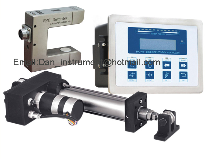 High Quality  EPC Web Guide Control system with ultrasonic sensor  Sensor and Servo Web guide Controller web based school management system
