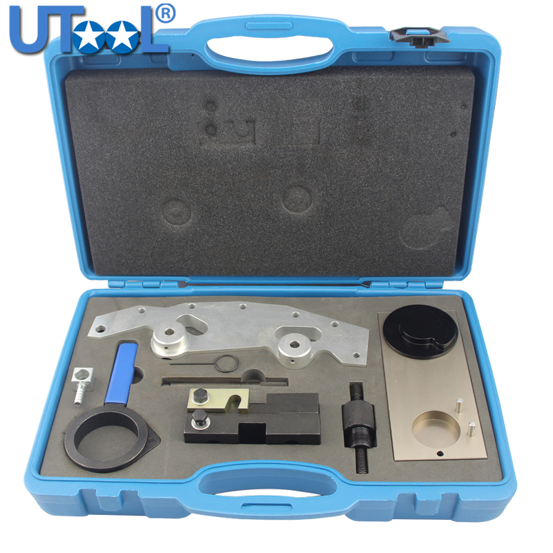 US $283 5 10% OFF|Engine Timing Tool Kit Compatible for BMW M52 M54 M56  M52TU 6 Cylinder Single and Double Vanos-in Engine Care from Automobiles &