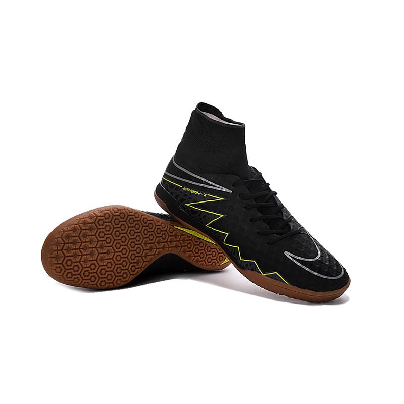 3116e0c306b Nike Hypervenomx Proximo TF Indoor Soccer Training Gray Sneakers ...