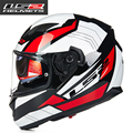 New LS2 FF320 Motorcycle Helmet Dual lens Full Face helmets Professional men Capacete Casco Racing moto Helmets DOT approved