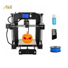 Home/Office Used 3d Printer Best Factory Anet A8/A6 DIY 3d Printer 0.4MM Nozzle Layer Height with Free Filament 3d Printer Tools