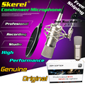 Professional Wired Condenser Mic Recording Studio Microphone For Karaoke System Computer Broadcast Guitar With Shock Mount Set