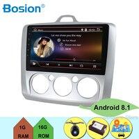 Android 8,1 автомобиль радио мультимедиа плеер для Ford Focus Mk2 Mk3 2004 2005 2006 2007 2008 2009 2010 2011 gps навигации Камера