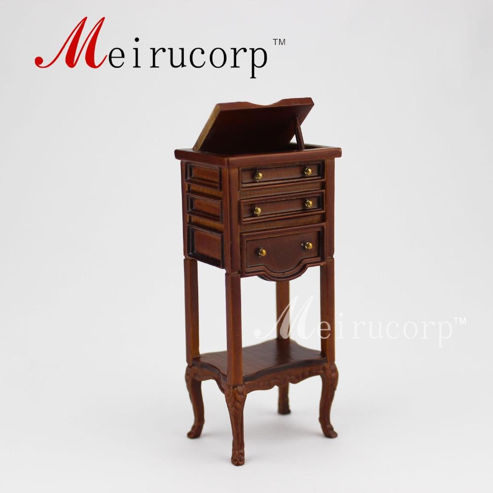 Кукольный домик в масштабе 1:12 миниатюрная мебель европейская классика