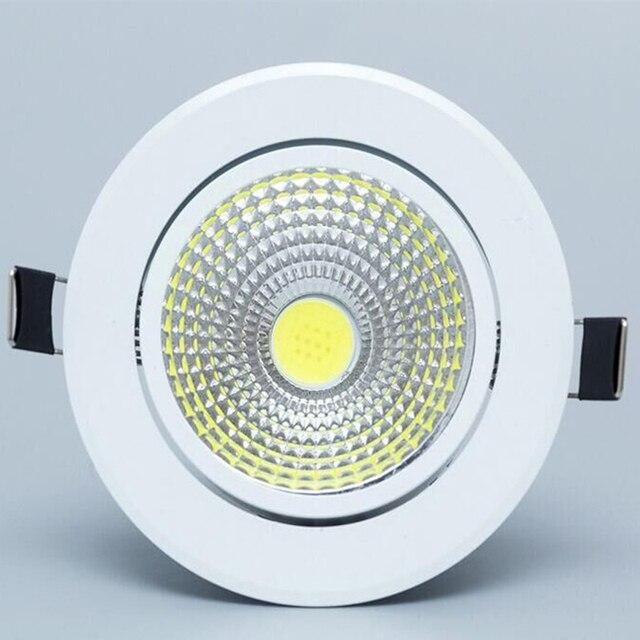 調光対応 Led ライトランプ Horizan 天井スポットライト 3 ワット 5 ワット 7 ワット 10 ワット 85 265V 天井凹型インテリア照明ランプ