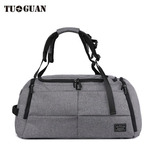 743b343935 TUGUAN New Travel Bag Large Capacity Men Hand Luggage Travel Duffle Bags  oxford fabric Weekend Bags