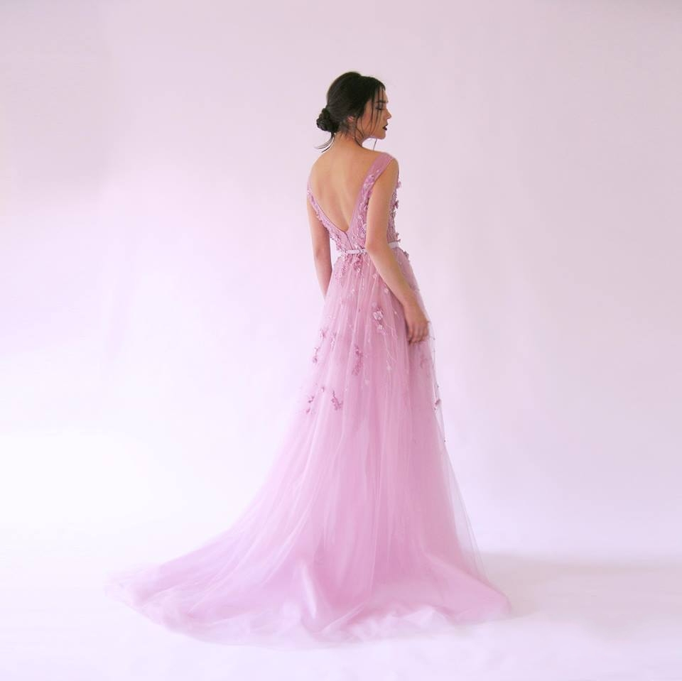 New Arrival 2016 Modest Formal Gowns Tulle Evening Grecian Arabic ...