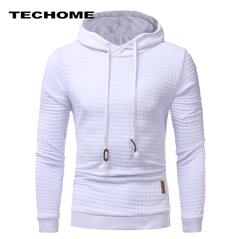 Hoodies Men Brand Male Hip Hop Long Sleeve Solid Color Hooded Sweatshirt Mens Hoodie Tracksuit Sweat Coat Casual Sportswear