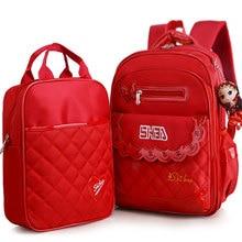waterproof Children School Bags Girls Kids princess