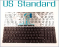 "US English Version Keyboard for HP Pavilion 15-AC 15-AF 250 G4 255 G4 256 G4 F8Z12PA#ABG SN7145 15.6"" Laptop No Frame"