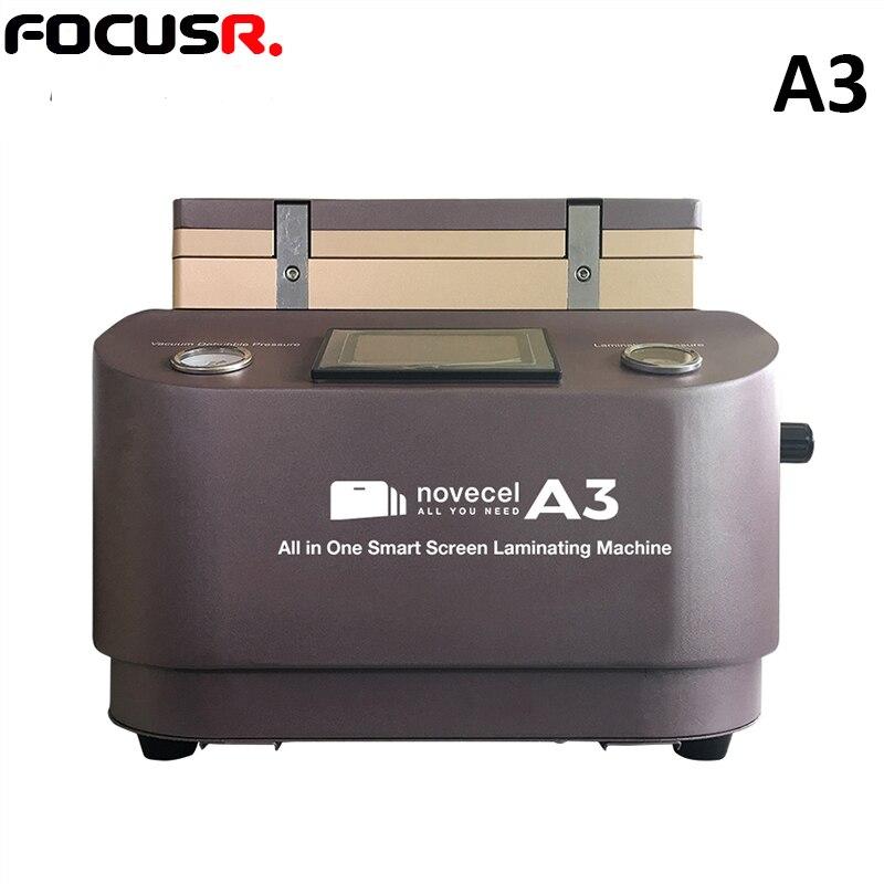 NOVECEL A3 font b Vacuum b font Lamination Machine OCA laminator mobile phone screen repair LCD