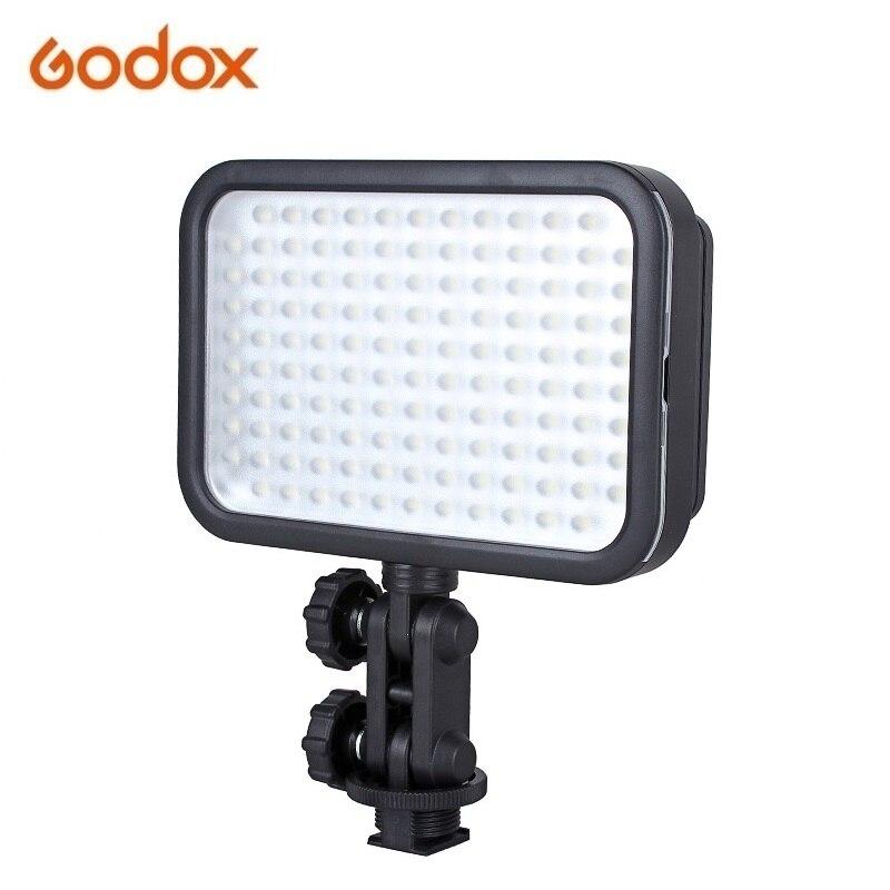 Godox LED126 LED Video Light 126 LED Lamp Lights Photographic Lighting 5500K for Photo Studio DSLR Camera Camcorder godox professional led video light