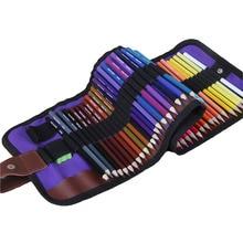 1 סט 50 צבעים עץ שאינו רעיל HB עפרונות צבעוניים סט פשוט Protable ציור אמנות סטי בית ספר ציור סקיצה אספקת ציור