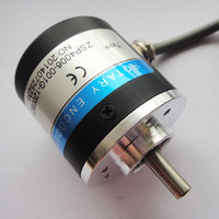 AB Two Phase 5 24V 400 Pulses Incremental Optical Rotary Encoder Speed Positioning Automatic Control
