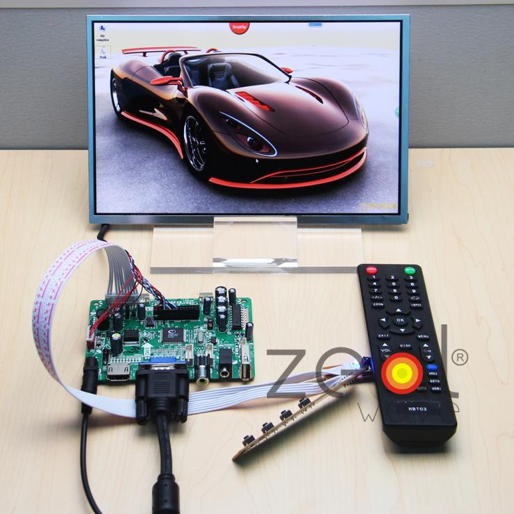 HDMI VGA CVBS AUDIO USB Driver Board+N101ICG HSD101PWW 10.1 1280*800 IPS LCD