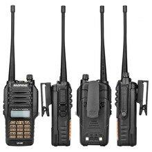 BF UV9R Walkie Talkie XJ 94 Baofeng impermeable UV doble banda Radio antena Manual de modulación de frecuencia receptor Walkie talkie