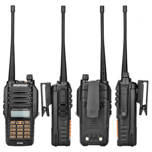 Image 1 - BF UV9R рация XJ 94 Baofeng Водонепроницаемая УФ Двухдиапазонная радио антенна ручной Частотный модуляционный приемник рация