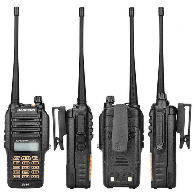 BF UV9R рация XJ 94 Baofeng Водонепроницаемая УФ Двухдиапазонная радио антенна ручной Частотный модуляционный приемник рация