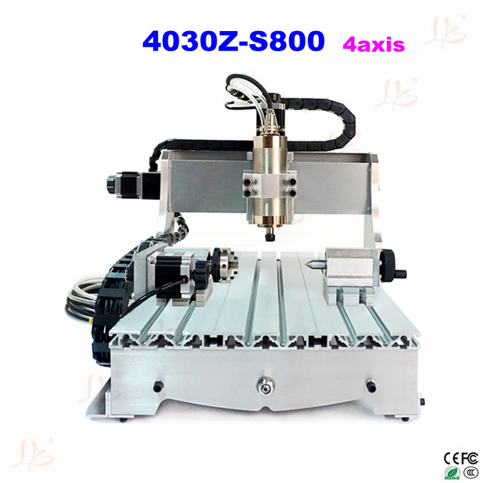 LY4030Z-S800 4 axis mini cnc router 800w VFD water cooling spindle 220v/110v Optional 3pcs 2 6 inch grit 240 600 1000 kit thin flat diamond stone sharpeners knife fine medium coarse