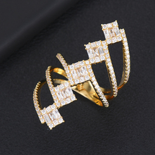 SISCATHY Famous Brand Jewelry Wedding Eternity Bridal Engagement Finger Rings Luxury Twist Cubic Zircon for Women