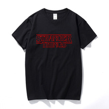new stranger things t-shirt summer tshirt t shirt homme men hip hop starnger