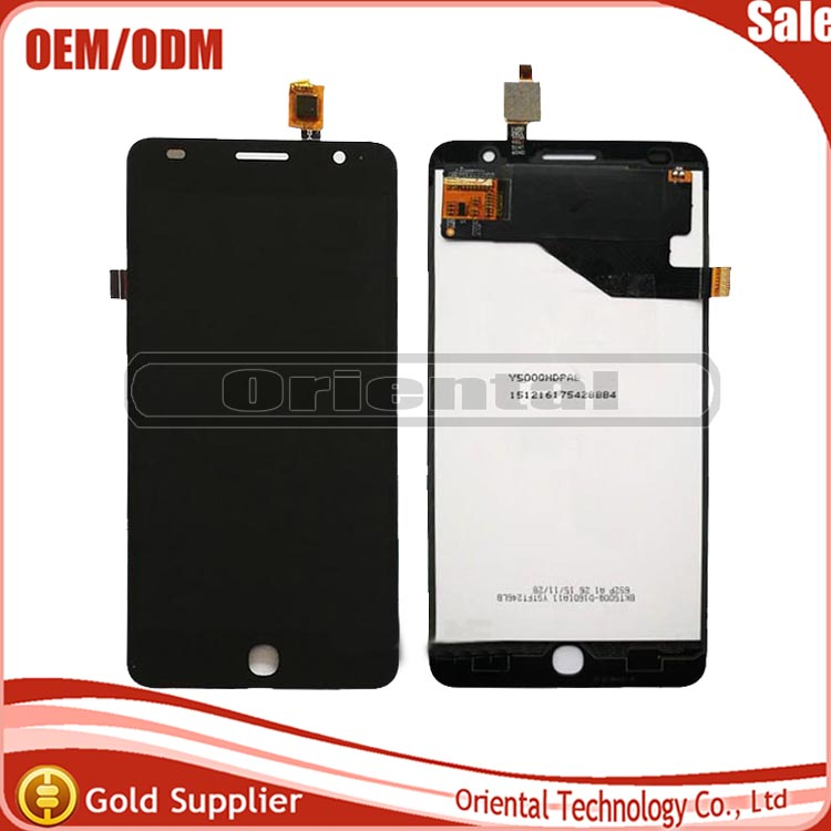 NEW!!!For Alcatel OneTouch Pop Star 4G OT-5070 OT-5070D 5070 5070D LCD Display Digitizer Touch Screen lens Assembly free ship