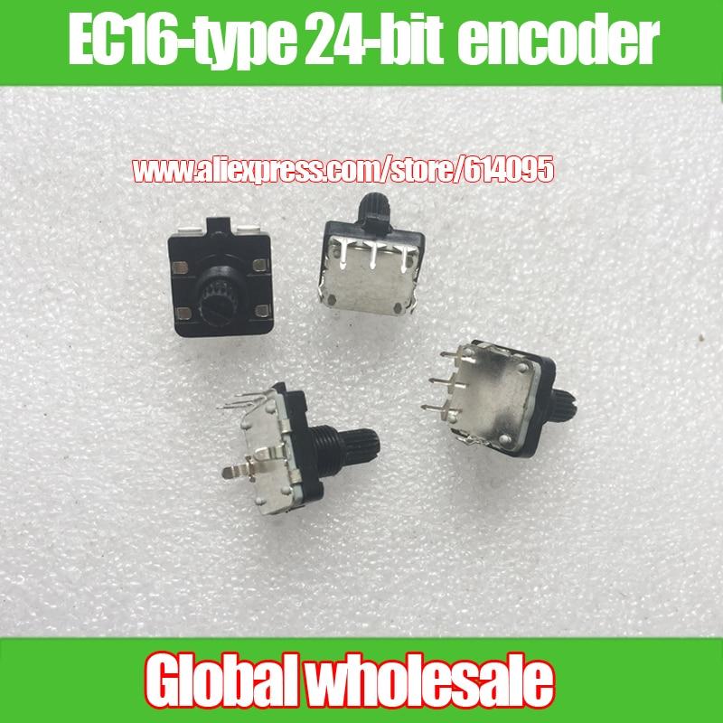 20PCS EC12 Audio E12 codeur//360 Degré Bouton Rotatif Trépied