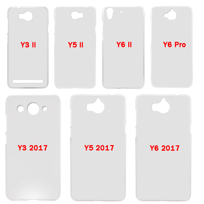 BINYEAE Teen Wolf Dylan Obrien Hard Transparent Case Cover Coque Shell for Huawei Y3 Y5 Y6 II 2017 Pro