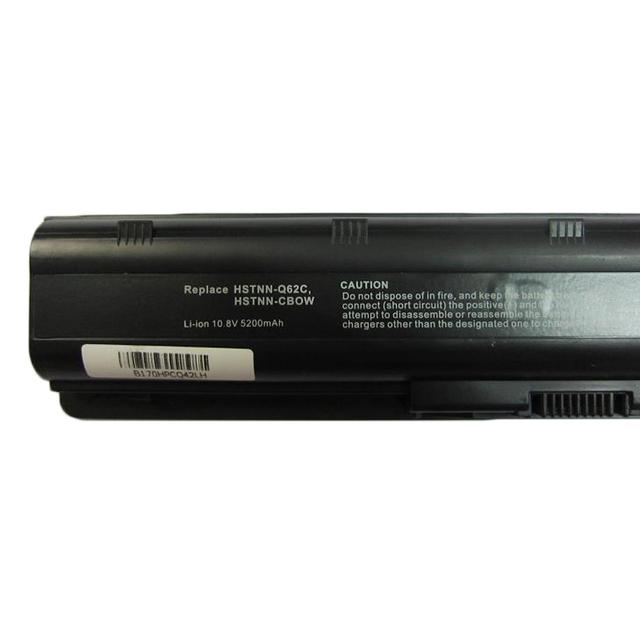 5200MaH Battery for HP Pavilion DM4 DV3 DV5 DV6 DV7 G32 G42 G62 G56 G72 for COMPAQ Presario CQ32 CQ42 CQ56 CQ62 CQ630 CQ72 MU06