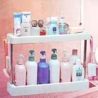 Vanzlife keuken badkamer opbergrek rekken veelzijdige organizing frame opbergrek voor toiletartikelen