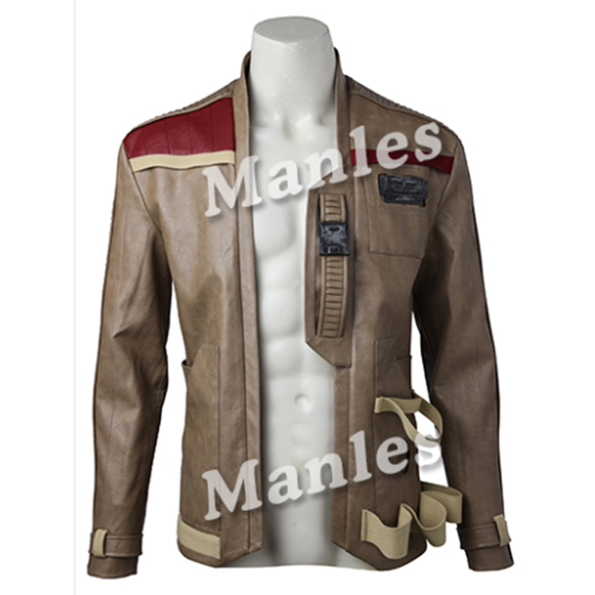 New Arrival Star Wars The Last Jedi Cosplay Finn Jackets Coat New Year Clothing Outfit Halloween Party For Men Custom Made