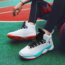 Hot High Ankle Men Basketball shoe Students Outdoor Training Match Ball Shoe Boy Wearable Antiskid Sport Basketbol ayakkabi