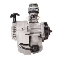 (Shipping From EU 49CC Mini Bike Quad 2 Stroke Motorcycle Engine Pullstart Carburettor thermal motor 150cc motor Air filter