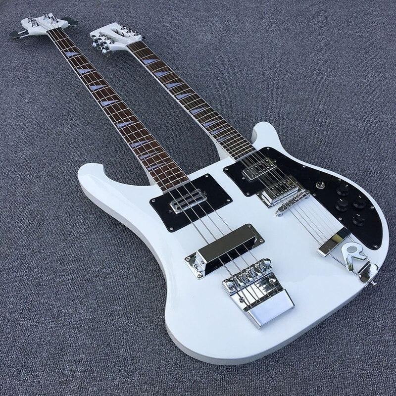 NOUVEAU Rick guitare Électrique et basse, 4 cordes basse + 12 cordes Électrique guitare, Toutes Les Couleurs sont disponibles, en gros, livraison gratuite, Chaude!!