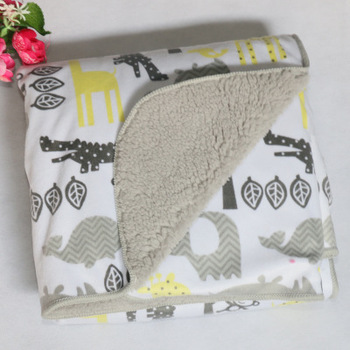 Baby blankets 2017 new thicken double layer coral fleece infant swaddle bebe envelope wrap newborn baby bedding blanket