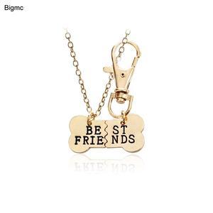 33697ea9dd8afb Bigmc men women chain necklace best friends Gift Jewelry