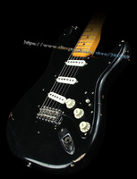 10S Custom Shop Artist Series Pink Floyd David Gilmour Black Relic Electric Guitar