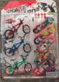 Free Shipping High quality Mini Fingerboard finger bmx bike + skate boards scooter FSB funny Novelty bicycles toys for children