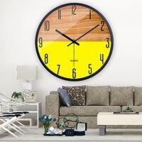 Retro Wooden Wall Clock Modern Design Digital Vintage Clock Mechanism Kitchen Silent Watch Guess Women Pow Patrol Decor WZH254