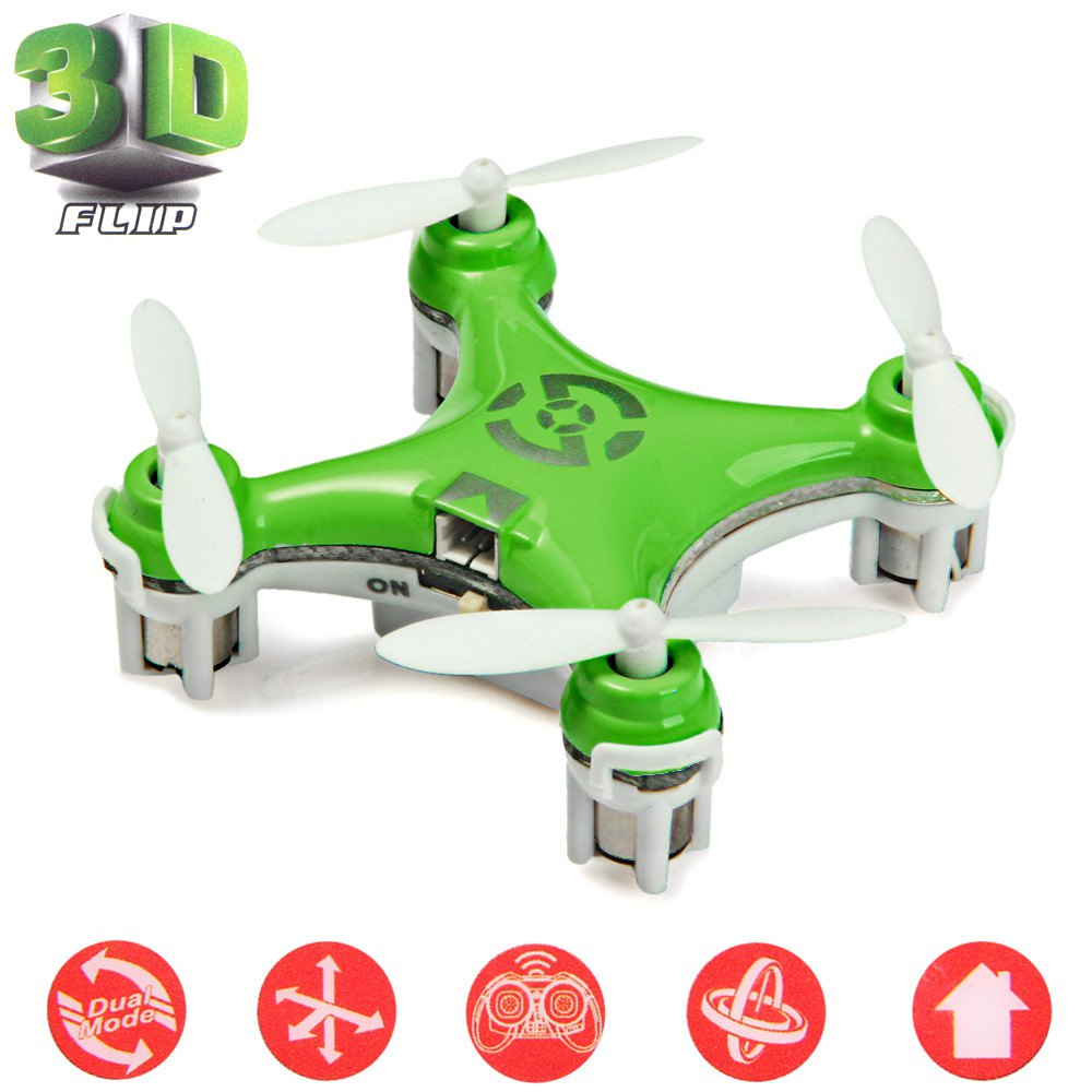 New Cheerson CX-10 2.4GHz Helicopter Mini Quadcopter 4 CH RC Quadcopter WiFi Built-in 6 Axis Gyroscope RC Drone with Light