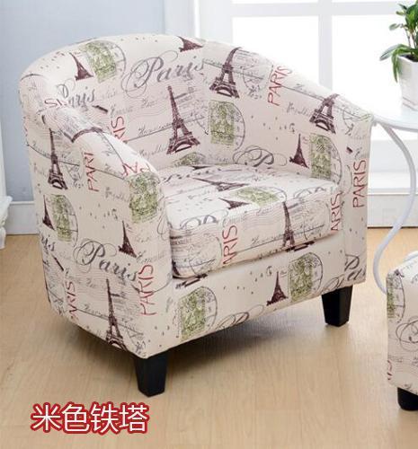 Европейский тканевая одноместная Софа стул интернет кафе кофе небольшой диван гостиничная комната кабинет компьютерный диван стул - Цвет: VIP 4