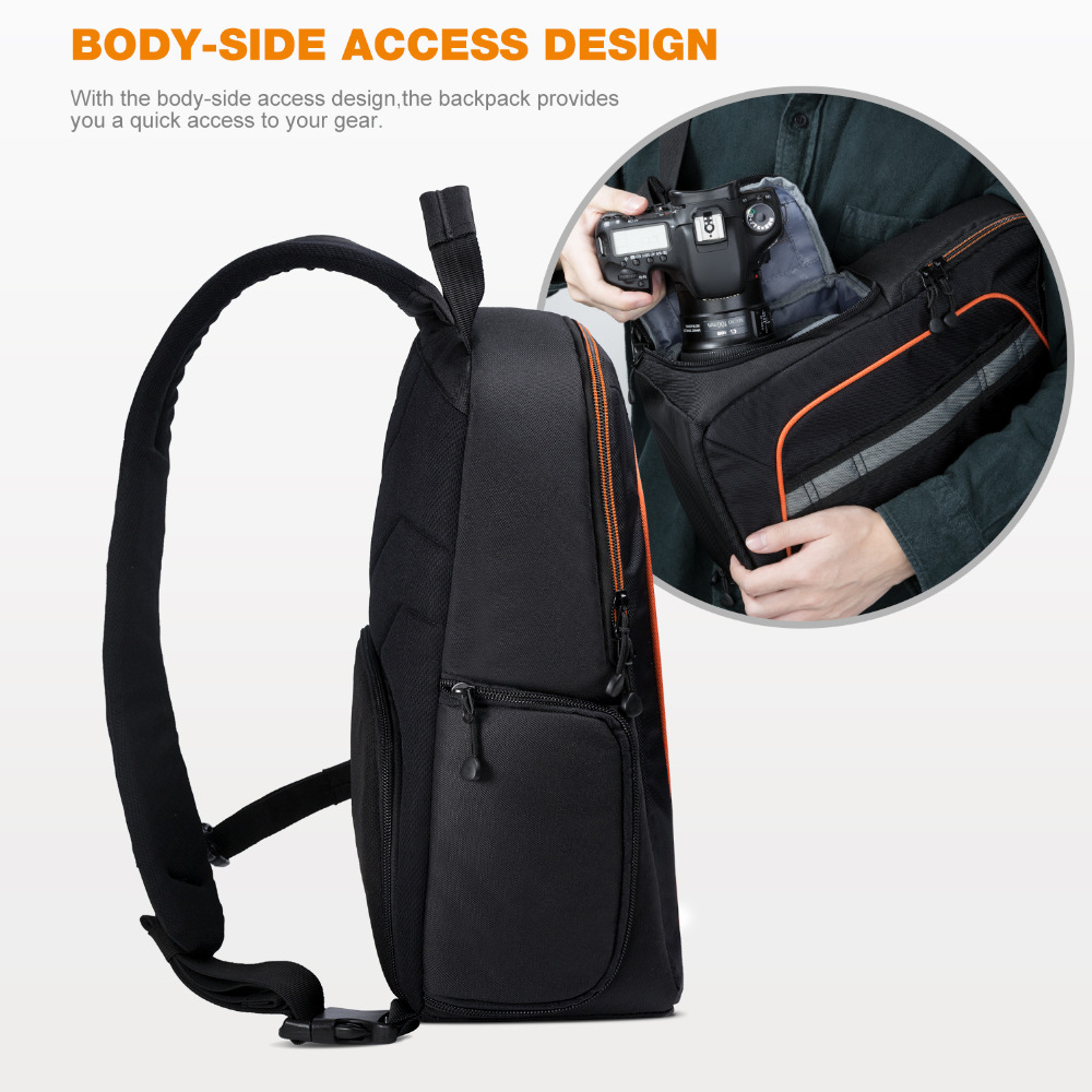 K F CONCEPT Waterproof Camera Bag Professional Shoulder Sling ...
